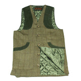 Game Tweed Ashford Gilet Flat and Fife