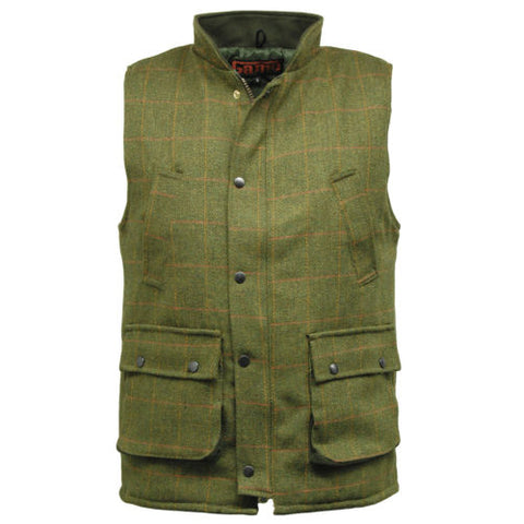 Game Tweed Gilet in Bute