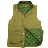Game Tweed Gilet Fife Interior