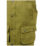 Game Tweed Gilet Fife Pocket