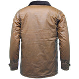 Game Mens Winchester Antique Jacket Tan Back