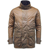 Game Mens Winchester Antique Jacket Tan Closed