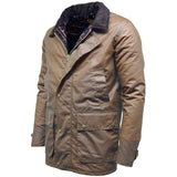 Game Mens Winchester Antique Jacket Tan Side