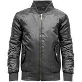 Girls MA1 Bomber Jacket Black