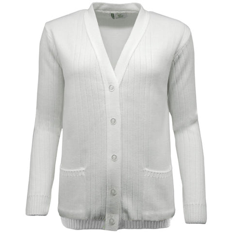 Green Play Ladies Ribbed Cardigan - 15% OFF