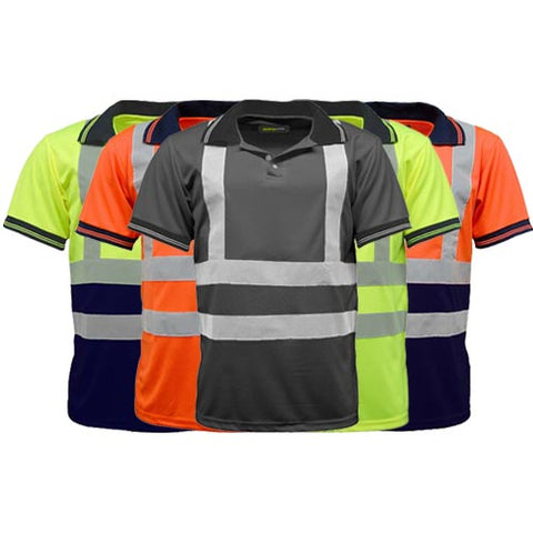 Hi Vis Short Sleeve Polo Shirt Gallery