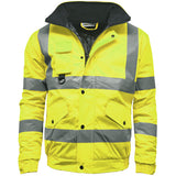Kapton Hi Vis Bomber Jacket Yellow