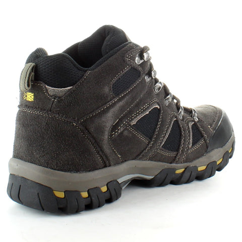 Mens Karrimor Boots Bodmin IV Weathertite Mid Rise Waterproof Walking Hiking