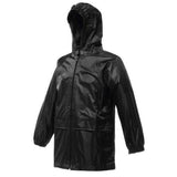 Kids Regatta Stormbreak Waterproof Jacket in Black