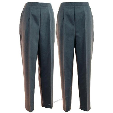 Ladies Bowls Trousers - Grey