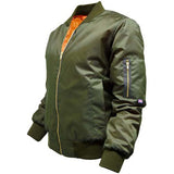 Ladies MA1 Bomber Jacket Olive