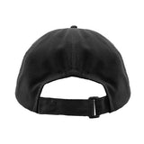 Leather Peak Wax Cap Black Back