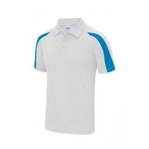Mens Club Polo Shirts Blue Stripe