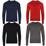 Mens L17-113 Plain V Neck Jumper Gallery