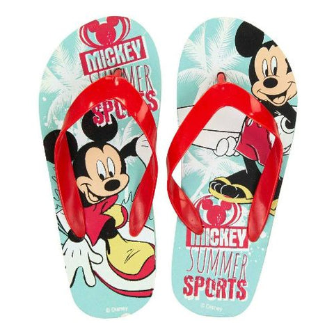 Boys Licenced Mickey Mouse Flip Flops