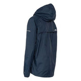 Trespass Qikpac Ladies Waterproof Hooded Jacket With Packaway Pouch