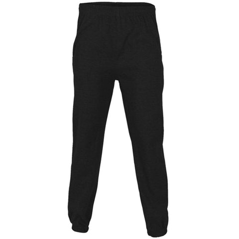 Plain Fleece Joggers Black