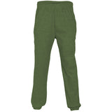 Plain Fleece Joggers Military Green