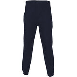 Plain Fleece Joggers Navy
