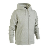 Plain Fleece Zipper Grey