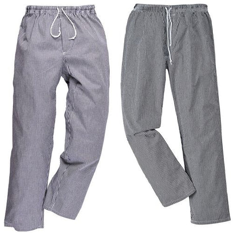 Portwest C079 Mens Bromley Chefs Trousers