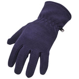 Portwest GL11 Fleece Gloves Navy Front