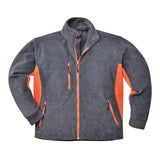 Portwest TX40 Heavy TwoTone Fleece Jacket Grey