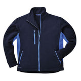 Portwest TX40 Heavy TwoTone Fleece Jacket Navy