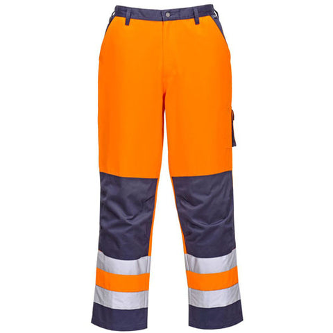 Portwest TX51 Hi Vis Cargo Trousers Orange