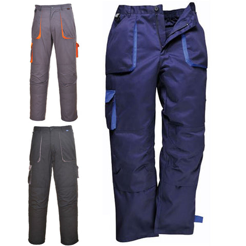 Portwest TX11 Contrast Cargo Trousers