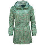 Rainyday Ella Printed Cagoule Fern Green