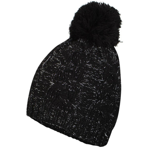 Proclimate Lurex Ladies Waterproof Thinsulate Cable Knit Hat