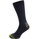 Mens Multi Pack Ribbed Work Socks (12 Pack)