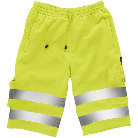 Standsafe HV030 Hi Vis Jogging Shorts Yellow