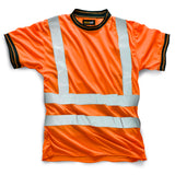 Hi Vis HV007 Crew Neck Shirt Orange