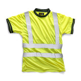 Hi Vis HV007 Crew Neck Shirt Yellow