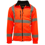 Hi Vis Standsafe Fleece Jacket Orange