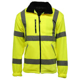 Hi Vis Standsafe Fleece Jacket Yellow