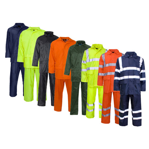 Supertouch Plain and Hi Vis Rainsuit Gallery