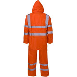 Supertouch Plain and Hi Vis Rainsuit Hi Vis Orange