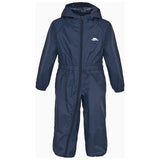 Trespass Button Waterproof Rainsuit in Navy