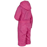 Trespass Button Waterproof Rainsuit Pink Side