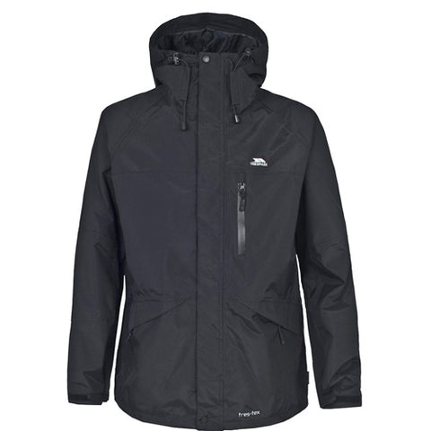 Trespass Corvo Waterproof Jacket Black