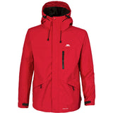 Trespass Corvo Waterproof Jacket Red