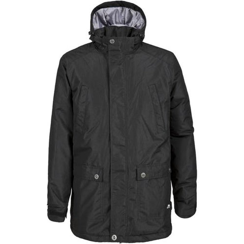 Trespass Ladies Franchesca Waterproof Jacket Black