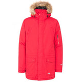 Trespass Jaydin Waterproof Parka Jacket in Red