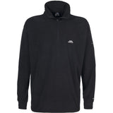 Trespass Masonville Quarter Zip Fleece Black