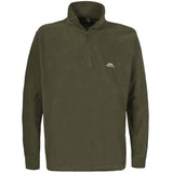 Trespass Masonville Quarter Zip Fleece Olive