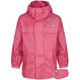 Trespass Kids Unisex Waterproof Packaway Jacket Sorbet