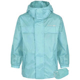 Trespass Kids Unisex Waterproof Packaway Jacket Tropical